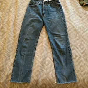 Re/done levis jeans